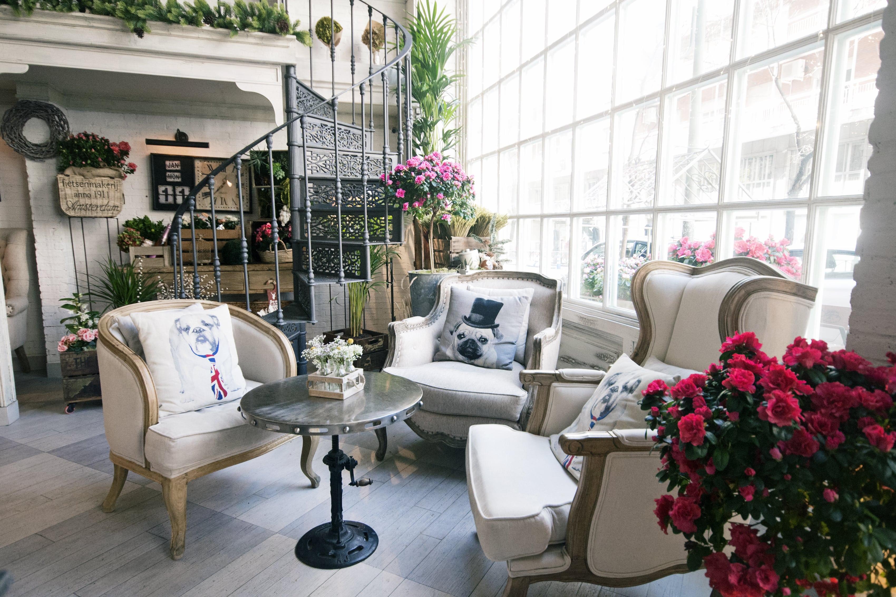 salon de fleurs en madrid